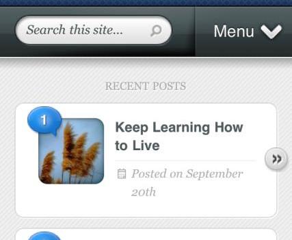 New Mobile Website!
